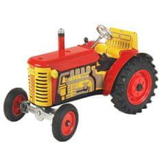 KOVAP Traktor Zetor, rdeča, rdeča kovina. diski