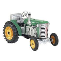 KOVAP Traktor Zetor, zelena, rumena kovina. diski
