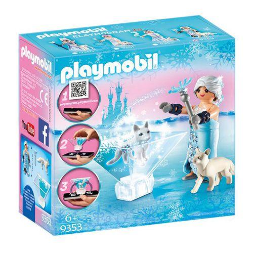 Playmobil Princess zimski cvet , Kristalna palača, 14 kosov