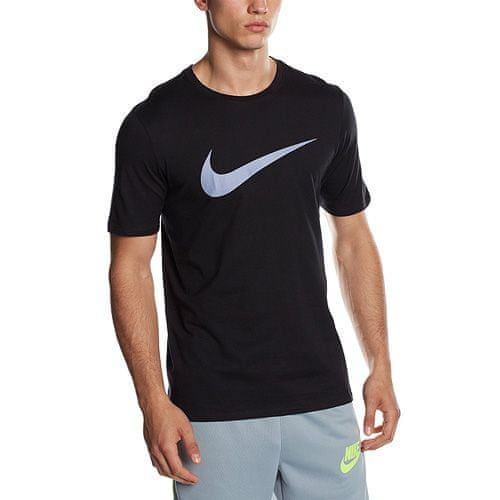 Nike TEE-CHEST SWOOSH, 10 | NSW OTHER SPORTS | MENS | SHORT SLEEVE T-SHIRT | BLACK | S