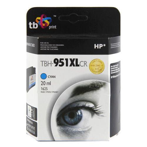 TB print Ink. kazeta TB komp. s HP CN046AE Cy, ref., Ink. kazeta TB komp. s HP CN046AE Cy, ref.