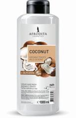 Kozmetika Afrodita Coconut tekoče milo, 1 l