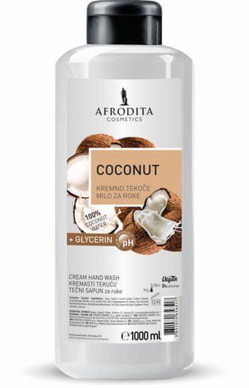 Kozmetika Afrodita Coconut tekući sapun+ glicerin, 1 L