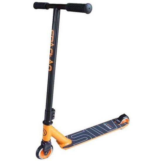 Spartan Stunt skiro, črno-oranžen