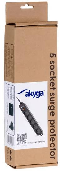 Akyga AK-SP-05U prenapetostna zaščita