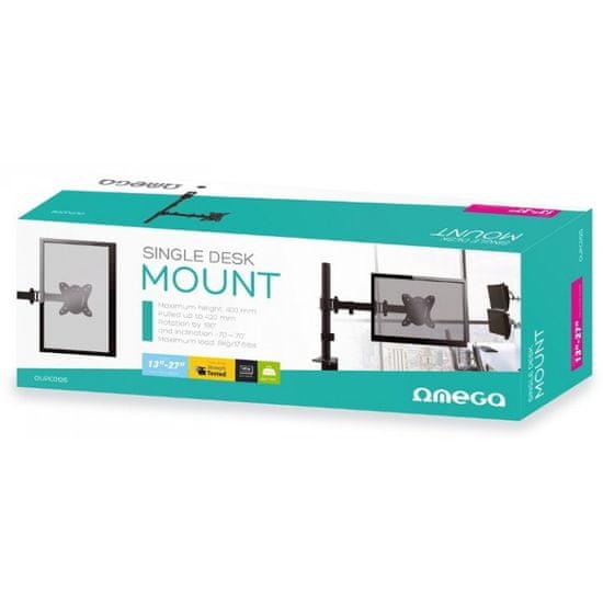 Omega OUPC012S namizni nosilec za monitor, 33,02cm (13) - 68,58cm (27), vrtljiv v vse smeri