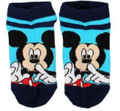 "SETINO Fantovske nogavice ""Mickey Mouse - Psst"" - modra - 31–34"