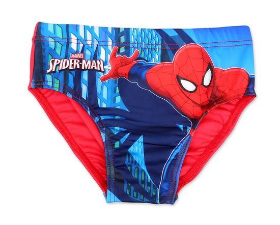 "SETINO Fantovske plavalne hlače ""Spiderman"" - rdeča"