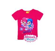 """SETINO Dekliška majica """"Shimmer and Shine"""" - roza - 128 / 7–8 let"""