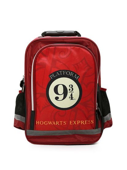 "SETINO Fantovski Šolska nahrbtnik ""Harry Potter"" - bordo 30x42x15 cm"