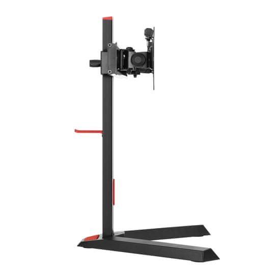 Omega VARR VDSGM namizni gaming nosilec za dva monitorja, 33,02cm (13) - 68,58cm (27), vrtljiv v vse smeri