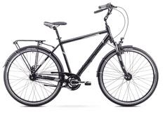 Romet Art Noveau 8 mestno kolo, L, črno-sivo