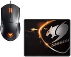 Cougar Minos XC + Speed XC, černý (3MMXCWOB.0001)