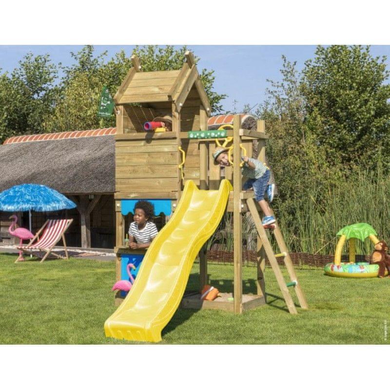 Jungle Gym Dětské hřiště Jungle Resort se skluzavkou
