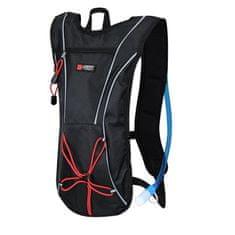 LIFEFIT kolesarski nahrbtnik, črno-rdeč (RY-BA-BATOH-0001)