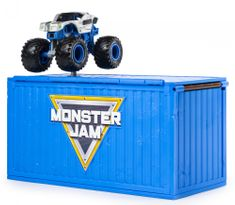 Spin Master zestaw Monster Jam 1:64 Ship it & Flip it!