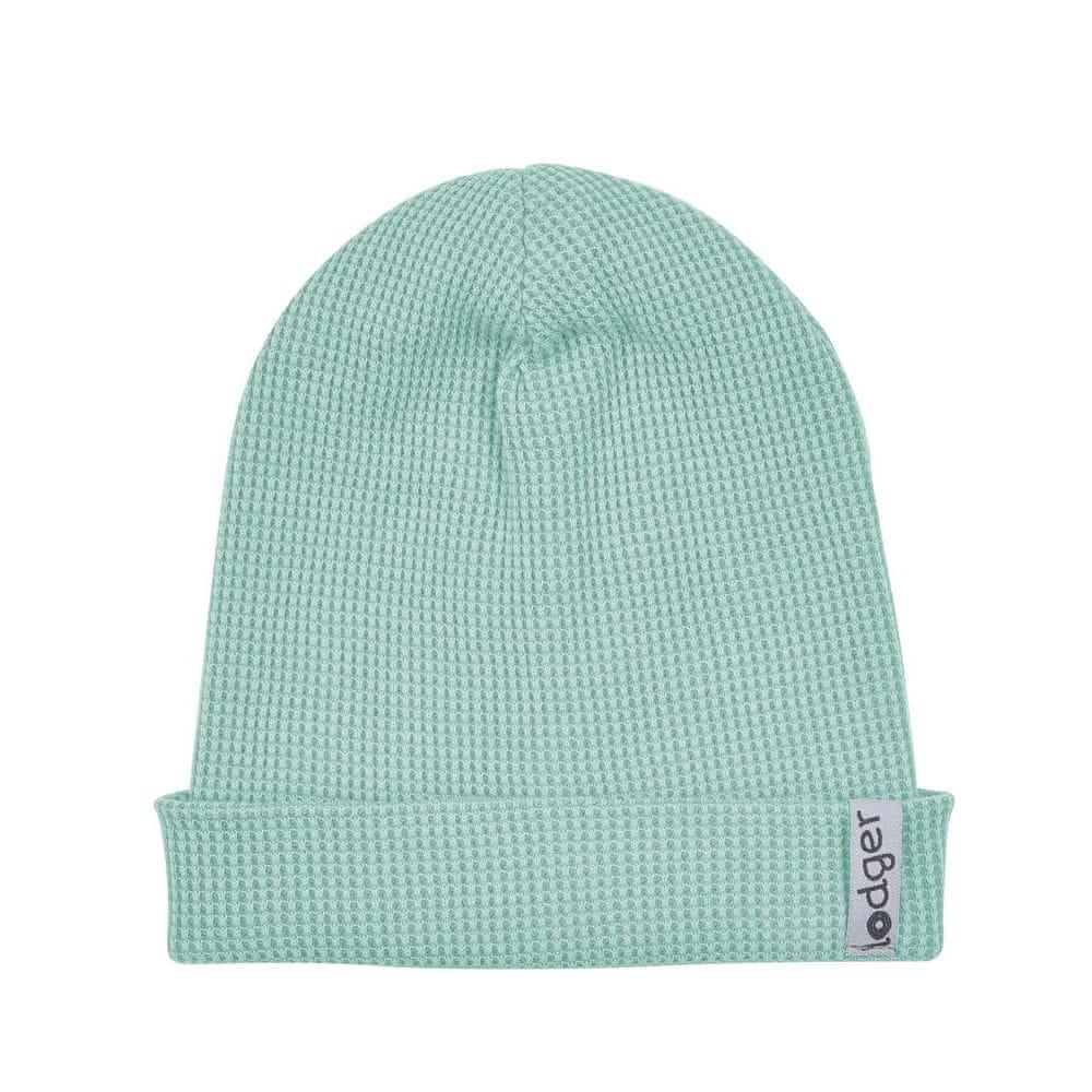 Lodger dětská čepice Beanie Ciumbelle Silt Green 0 - 6 zelená