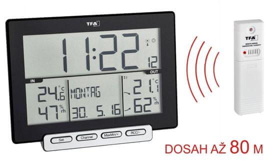 TFA 30.3058.01 TRINITY vezeték nélküli hőmérő