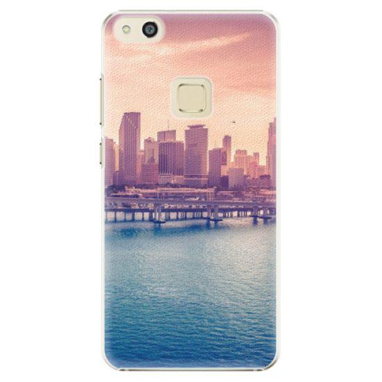 iSaprio Plastikowa obudowa - Morning in a City na Huawei P10 Lite