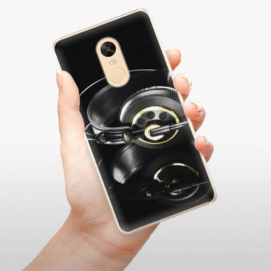 iSaprio Plastikowa obudowa - Headphones 02 na Xiaomi Redmi Note 4X