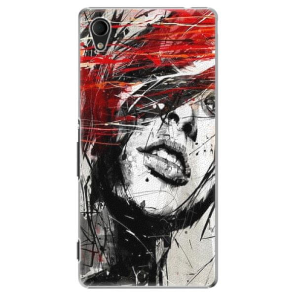 iSaprio Plastový kryt - Sketch Face pro Sony Xperia M4 Aqua