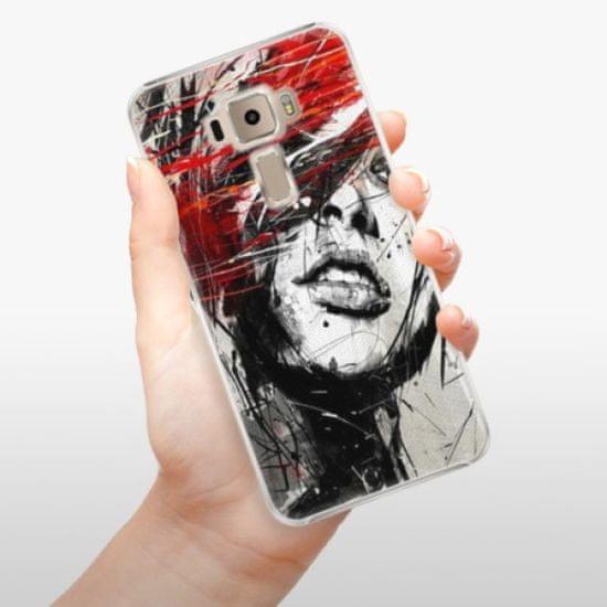 iSaprio Plastikowa obudowa - Sketch Face na Asus ZenFone 3 ZE520KL