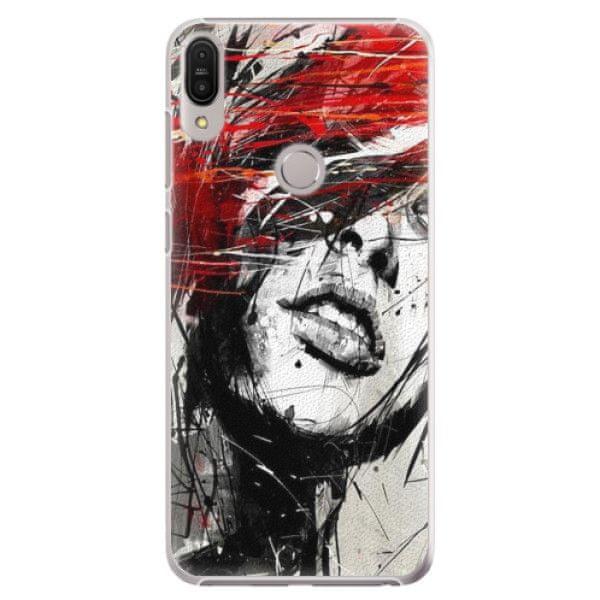 iSaprio Plastový kryt - Sketch Face pro Asus Zenfone Max Pro ZB602KL