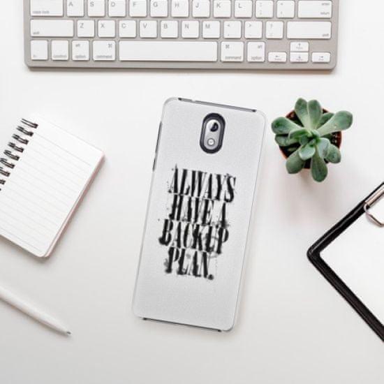 iSaprio Backup Plan műanyag tok Nokia 3.1