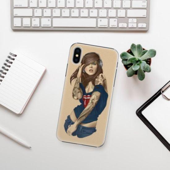 iSaprio Girl 03 műanyag tok iPhone X
