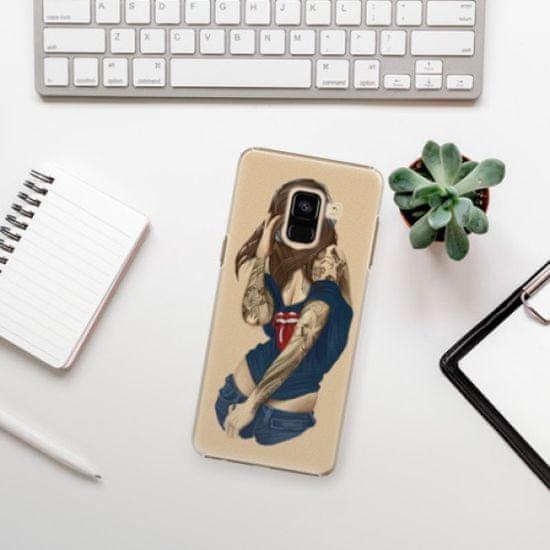 iSaprio Girl 03 műanyag tok Samsung Galaxy A8 2018