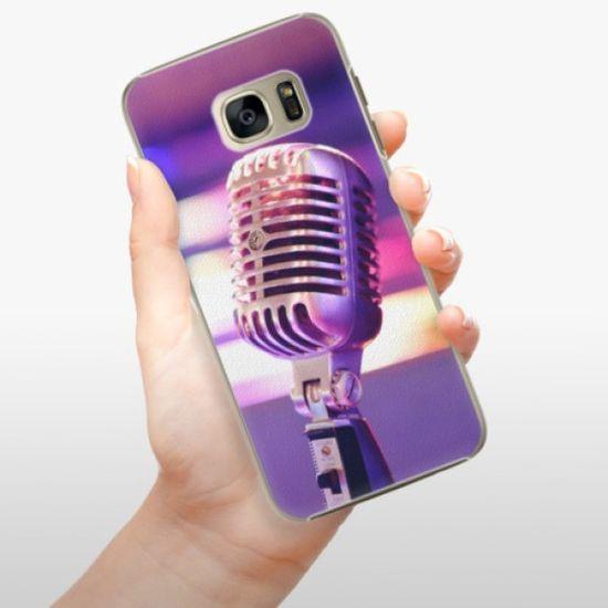 iSaprio Plastikowa obudowa - Vintage Microphone na Samsung Galaxy S7