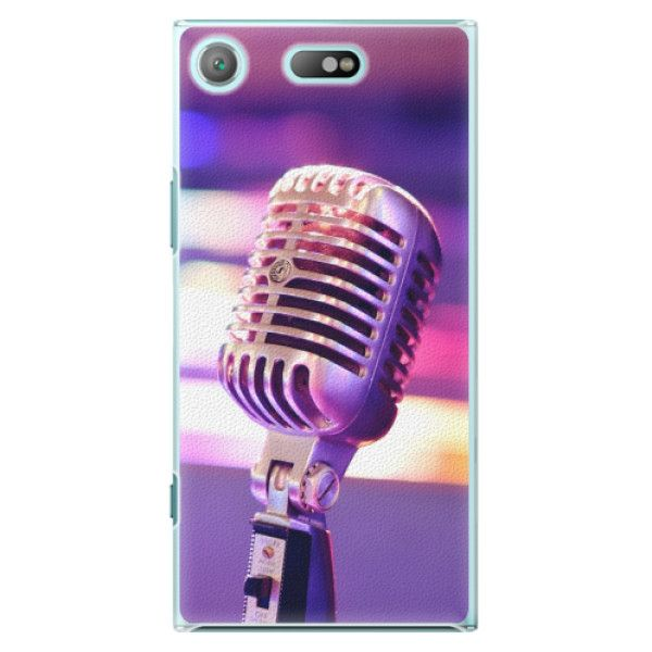 iSaprio Plastový kryt - Vintage Microphone pro Sony Xperia XZ1 Compact