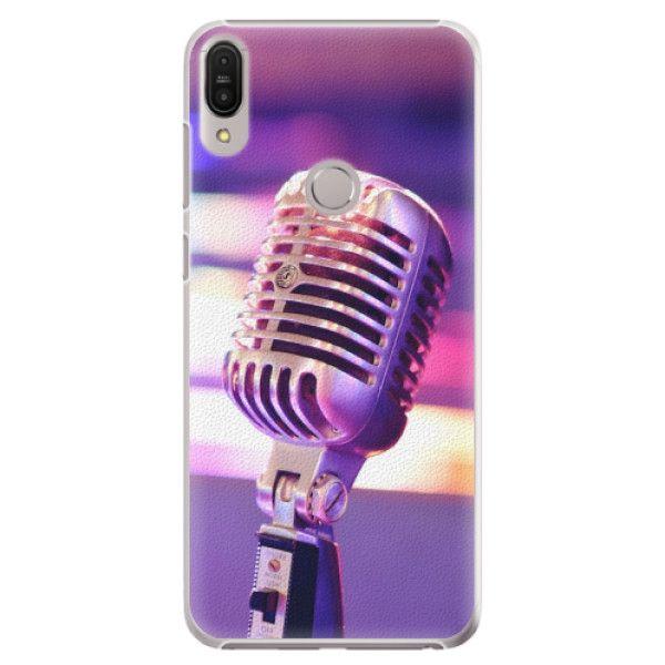 iSaprio Plastový kryt - Vintage Microphone pro Asus Zenfone Max Pro ZB602KL