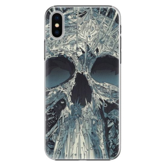 iSaprio Plastikowa obudowa - Abstract Skull na iPhone X