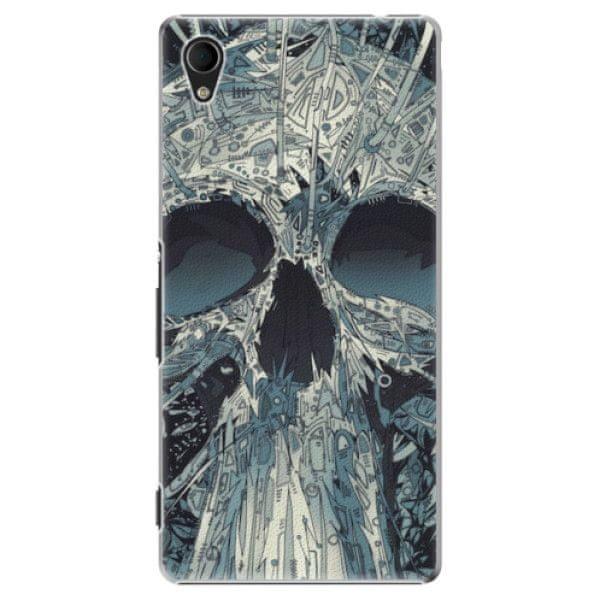 iSaprio Plastový kryt - Abstract Skull pro Sony Xperia M4 Aqua