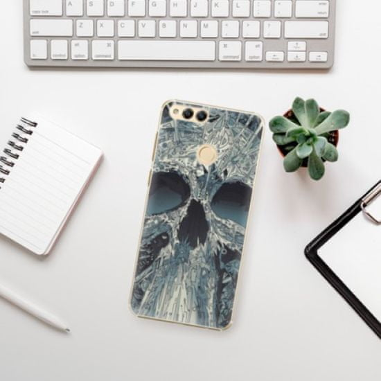 iSaprio Abstract Skull műanyag tok Huawei Honor 7X