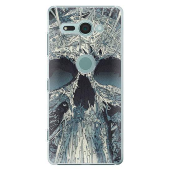 iSaprio Plastikowa obudowa - Abstract Skull na Sony Xperia XZ2 Compact