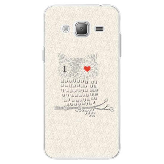iSaprio I Love You 01 műanyag tok Samsung Galaxy J3