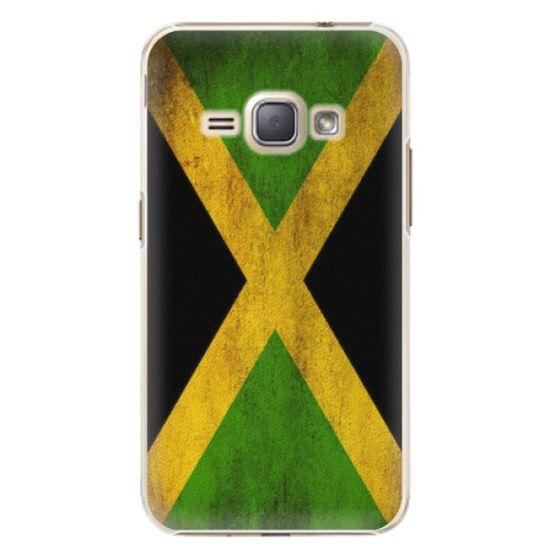 iSaprio Plastikowa obudowa - Flag of Jamaica na Samsung Galaxy J1 2016