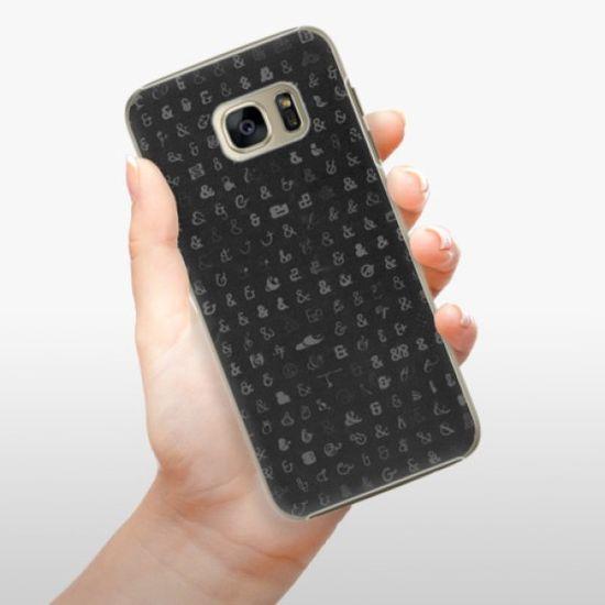 iSaprio Plastikowa obudowa - Ampersand 01 na Samsung Galaxy S7 Edge