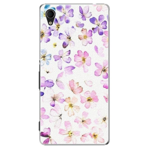 iSaprio Plastový kryt - Wildflowers pro Sony Xperia M4 Aqua