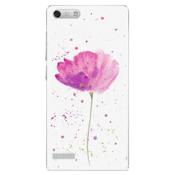 iSaprio Plastový kryt - Poppies pro Huawei Ascend G6