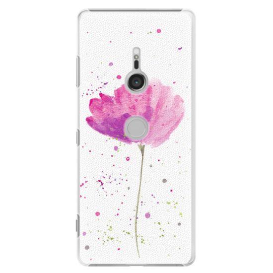 iSaprio Plastikowa obudowa - Poppies na Sony Xperia XZ3