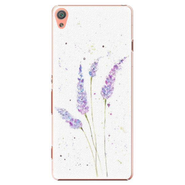 iSaprio Plastový kryt - Lavender pro Sony Xperia XA