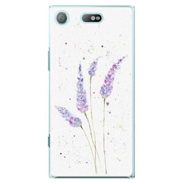 iSaprio Plastový kryt - Lavender pro Sony Xperia XZ1 Compact