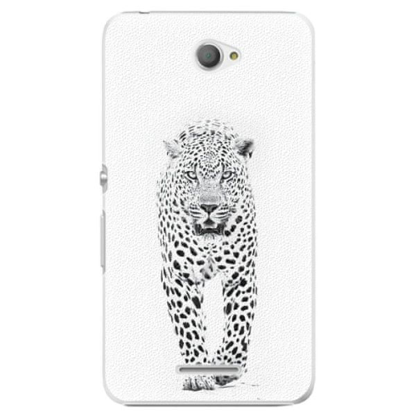 iSaprio Plastový kryt - White Jaguar pro Sony Xperia E4
