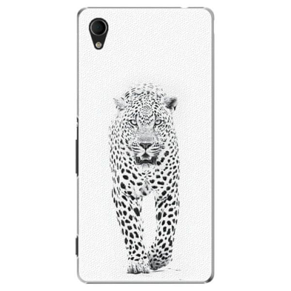 iSaprio Plastový kryt - White Jaguar pro Sony Xperia M4 Aqua