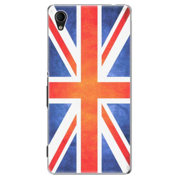 iSaprio Plastový kryt - UK Flag pro Sony Xperia M4 Aqua
