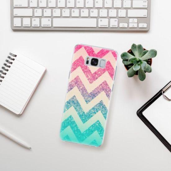 iSaprio Plastikowa obudowa - Zig-Zag na Samsung Galaxy S8 Plus