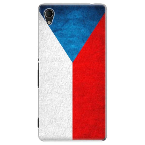 iSaprio Plastový kryt - Czech Flag pro Sony Xperia M4 Aqua
